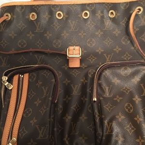 LV Large backpack